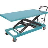 MJ522 Scissor Lift Tables 1100-lb cap