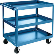 "MB487 Shelf Carts 3 shelves 24""Wx48""Dx36""H"