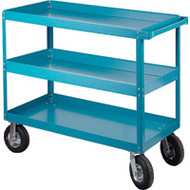 "MB491 Shelf Carts (3 shelves) 24""Wx48""Dx40""H"