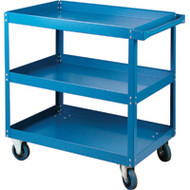 "MB496 Shelf Carts (3 shelves) 24""Wx36""Dx36""H"