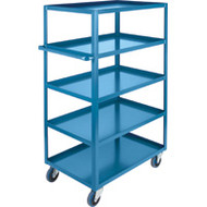 "MB476 HD Shelf Carts 5 shelves 24""Wx36""Dx61""H"