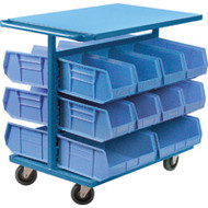 Mobile Racks Double-Sided (w/Plastic Bins) Starting at