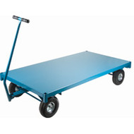 "MD193 Ergonomic Wagons (steel deck) 36""Wx72""L"
