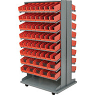 "CB331 Racks RED Bins 33-1/2""Wx12-1/4""Dx65""H"""