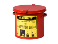 SR356 Oily Waste Cans (RED) 2-gal Countertop
