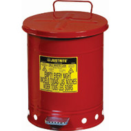 SR359 Oily Waste Cans (RED) 53 liters/14 US GAL