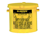 SR361 Oily Waste Cans (YELLOW) 2-gal Countertop