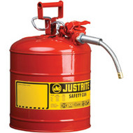 "SEA221 Safety Cans (RED) 5/8"" hose7.5 liters"