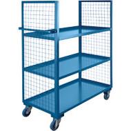 "ML182 2 sides/3 shelves 24""Wx60""Lx63'H"