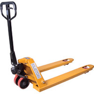 "ML972 Pallet Jacks Nylon wheels 27""Wx48""L"