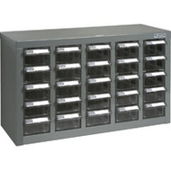 "CF313 25 clear drawers23.1""Wx8.7""Dx13.8""H"