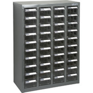 "CF314 40 clear drawers18.3""Wx8.7""Dx25.3""H"