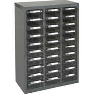 "CF319 30 clear drawers17.5""Wx8.7""Dx25.3""H"