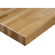 "FD028 HD Workbench Tops (hardwood/square edge) 36""Wx84""L"