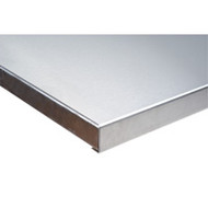 "FI268 HD Workbench Tops (stainless steel) 24""Wx48""L"
