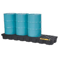 SBA851 Drum Spill Pallets 4-drumWith drain