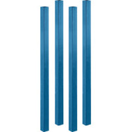 """RL420 Upright Posts For stacking racks2""""W x 42""""H"""