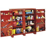 "TEP168 JOBOX (tool cabinets) 60-1/8""Wx24-1/4""Dx60-3/4""H"