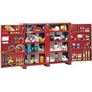 "TEP172 JOBOX (tool cabinets) 72""Wx24""Dx60-5/8""H"
