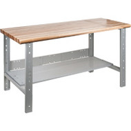 "FF688 Workbenches (laminated wood tops) 30""W x 60""L x 34"""