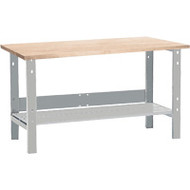 "FF686 Workbenches (laminated wood tops) 24""W x 60""L x 34"
