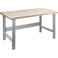 "FF677 Workbenches (w/shop grade wood tops) 30""Wx72""Lx34""H"