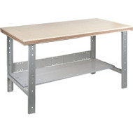 "FF715 Workbenches (shop grade wood tops) 36""Wx72""Lx34""H"