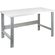 "FF662 Workbenches (laminated plastic tops) 30""Wx60""Lx34""H"