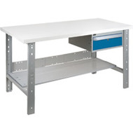 "FG288 Workbenches (laminated plastic tops) 36""Wx72""Lx34""H"
