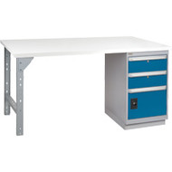 """FG102 Workbenches (laminated plastic tops) 36""""Wx72""""Lx34""""H"""