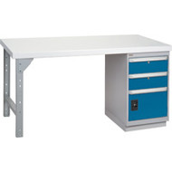 "FG099 Workbenches (laminated plastic tops) 30""Wx60""Lx34""H"