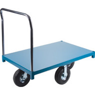 "MB265 Steel Platform Diamond casters 30""Wx48""L"