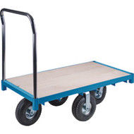 "MB266 Wood Platform Diamond casters 30""Wx48""L"