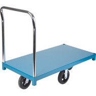 "MB297 Steel Platform Diamond casters 24""Wx48""L"