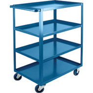 "ML092 HD Shelf Carts 4 shelves 24""Wx36""Dx48""H"