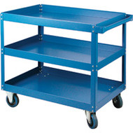 "MN143 Shelf Carts 3 shelves 18""Wx30""Dx48""H"