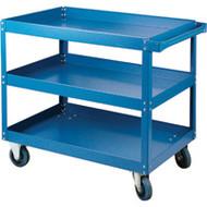 "MN143 Shelf Carts 3 shelves 18""Wx30""Dx48""H"