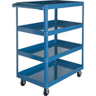 "MN151 Shelf Carts 4 shelves 18""Wx30""Dx61""H"