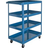 "MN151 Shelf Carts 4 shelves 18""Wx30""Dx61""H"