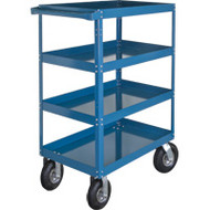 "MN157 Shelf Carts (4 shelves) 24""Wx48""Dx65""H"