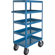 "MN162 Shelf Carts (5 shelves) 24""Wx48""Dx65""H"
