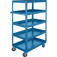 "ML151 Shelf Carts (5 shelves) 18""Wx30""Dx61""H"