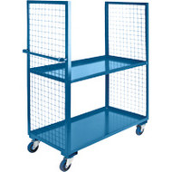 "ML171 2 sides/2 shelves 30""Wx48""Lx63'H"