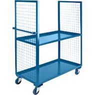 "ML173 2 sides/2 shelves 30""Wx72""Lx63'H"