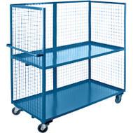 "ML204 3 sides/2 shelves 24""Wx60""Lx63'H"