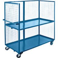 "ML206 3 sides/2 shelves 30""Wx60""Lx63'H"