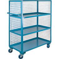 "ML215 3 sides/3 shelves 24""Wx48""Lx63'H"