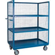 "ML217 3 sides/3 shelves 30""Wx48""Lx63'H"