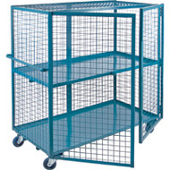 "ML246 Lockable2 shelves24""Wx60""Lx63""H"