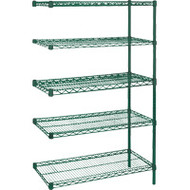 "RL665 EPOXY Shelving (ADD-ON/5 shelf) 48""Wx18""Dx74""H"